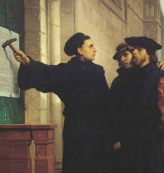 martin luther thesis 36 The original text of martin luther's 95 theses in original latin and translated   36 every truly repentant christian has a right to full remission of penalty and guilt .