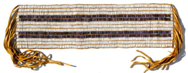 The Two-Row Wampum Belt.