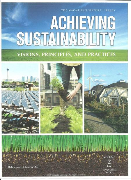 Achieving Sustainability cover